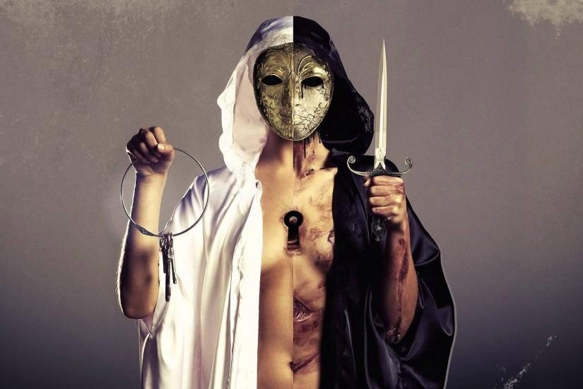 Bring Me The Horizon, Rock Music, Mask, Knife, Rock Bands Wallpaper HD