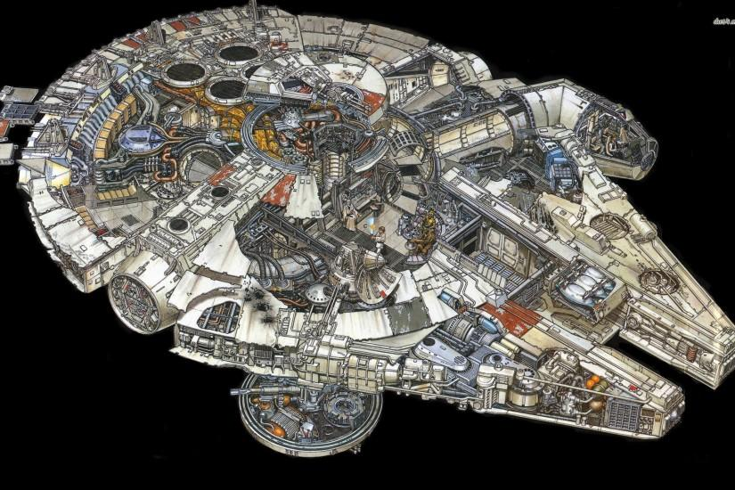 Millennium Falcon HD wallpapers