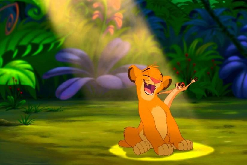 The Lion King Wallpaper Hakuna Matata Wallpaper Free with Wallpaper High  Resolution