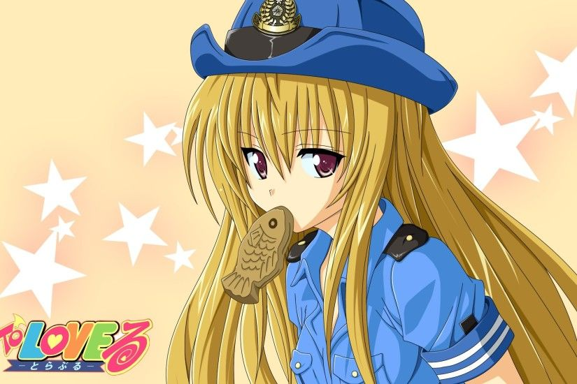 Wallpaper To love ru, Golden darkness, Girl, Blond, Food, Fish HD, Picture,  Image
