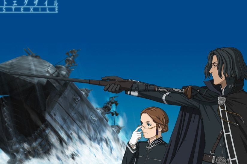 1920x1080 Wallpaper last exile, man, woman, gesture, glasses