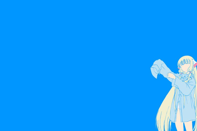 [OC] I gave minimalist art a try. Did it with my favorite anime (Chobits).  Feedback welcome!