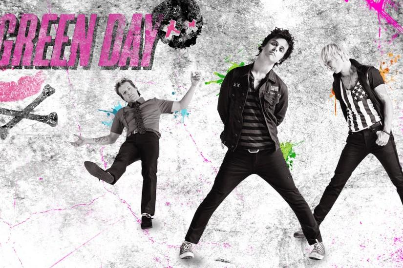 Green Day 4K Green Day Background Green Day Computer Wallpaper ...