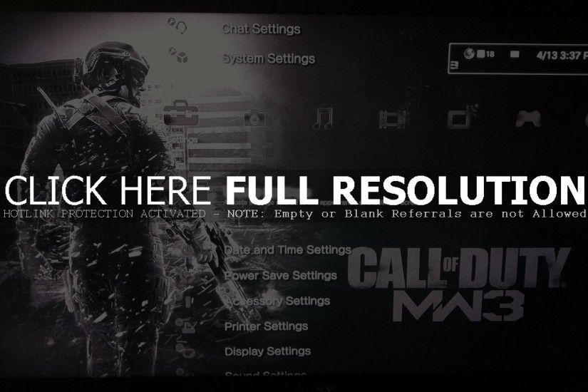 Ps3 Themes Mw3 (id: 49554)