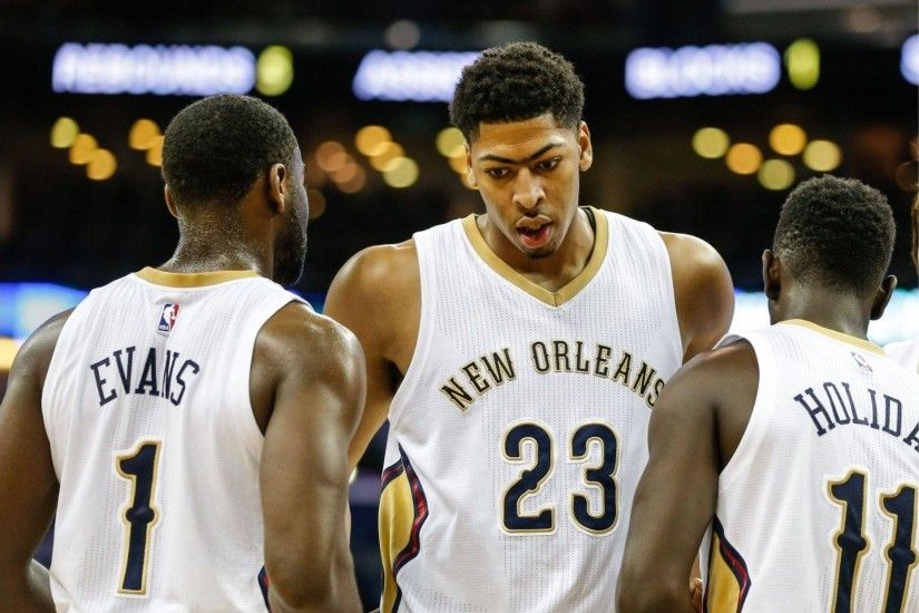 New Orleans Pelicans 4K Anthony Davis Wallpaper | Free 4K Wallpaper