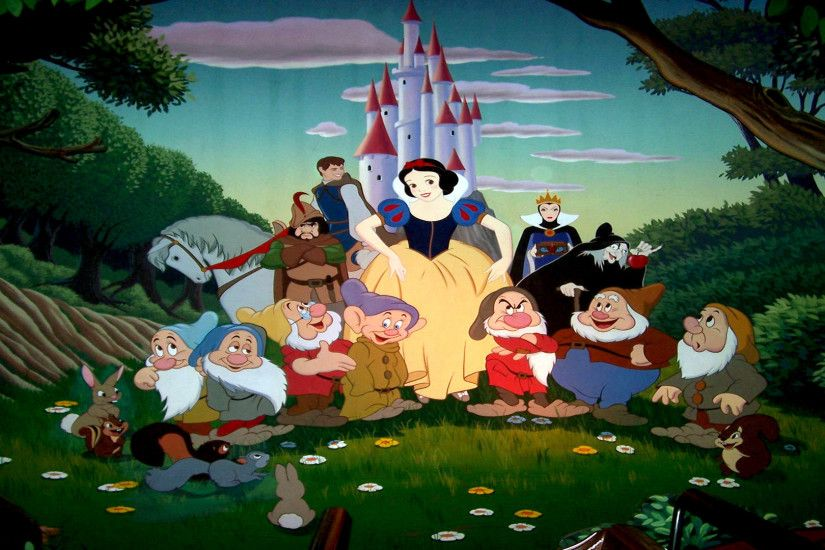 1920x1200 Movie - Snow White and the Seven Dwarfs Wallpaper