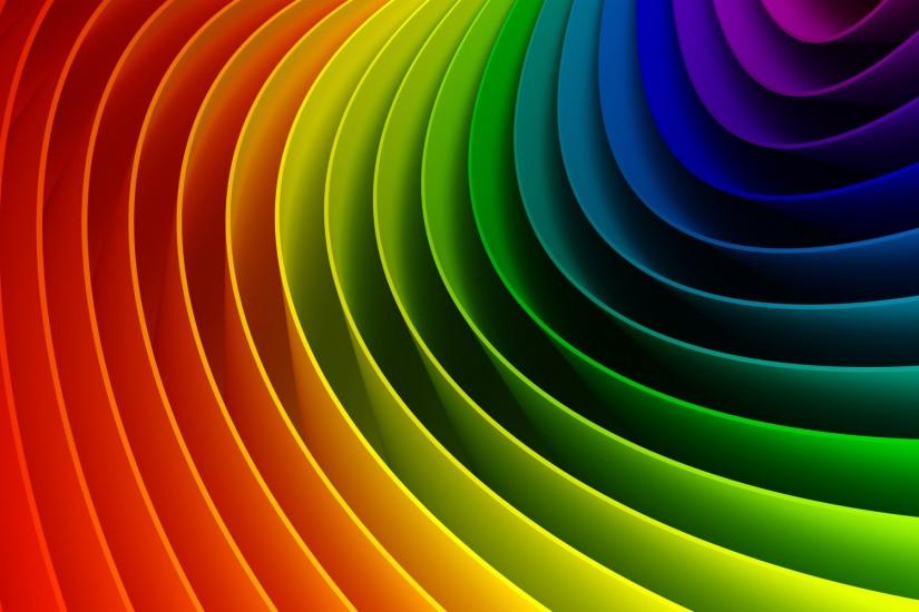 Rainbow Color Wallpaper High Quality Resolution