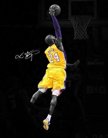 Kobe Bryant Wallpaper Hd Logo Basketball 2014