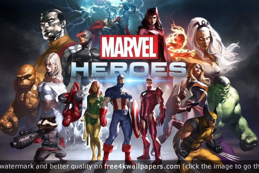 Best Marvel Heroes 4K About Wallpaper HD 1366x768 with Marvel Heroes 4K  Download HD Wallpaper