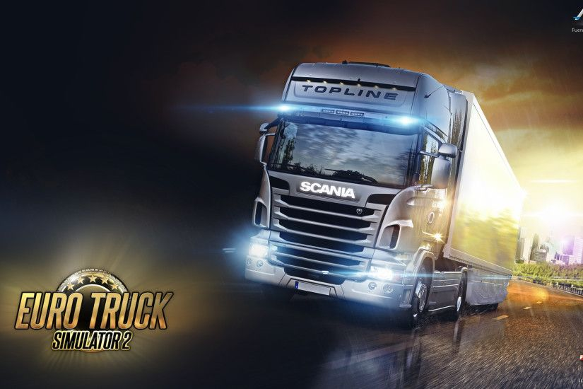 ... Euro Truck Simulator 2 Wallpaper (ETS2) SCS by fuentesosvaldo