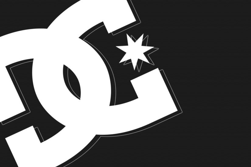 dc shoes logo background hd