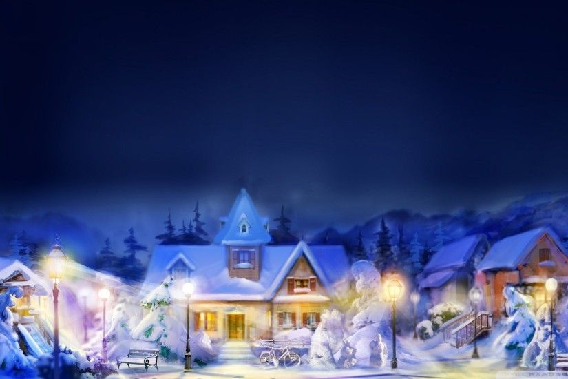 1920x1200 Collection of Christmas Snow Wallpaper on HDWallpapers Snow  Images Wallpapers Wallpapers)