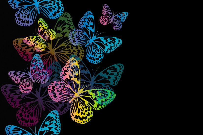 Butterflies be capable of see colors like red, green, and yellow. Take a  look at beautiful collection of butterfly wallpapers which we have  collected ...