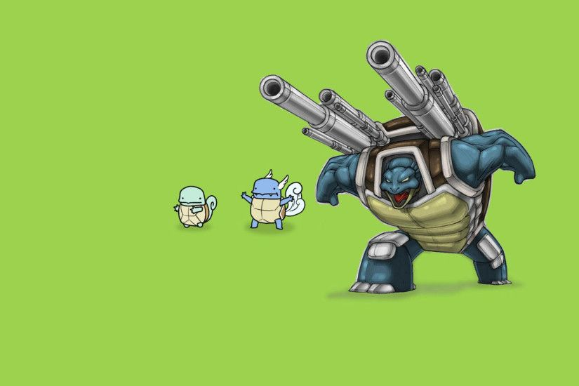 ... Pokemon, Squirtle, Blastoise, simple background - related desktop  wallpaper ...