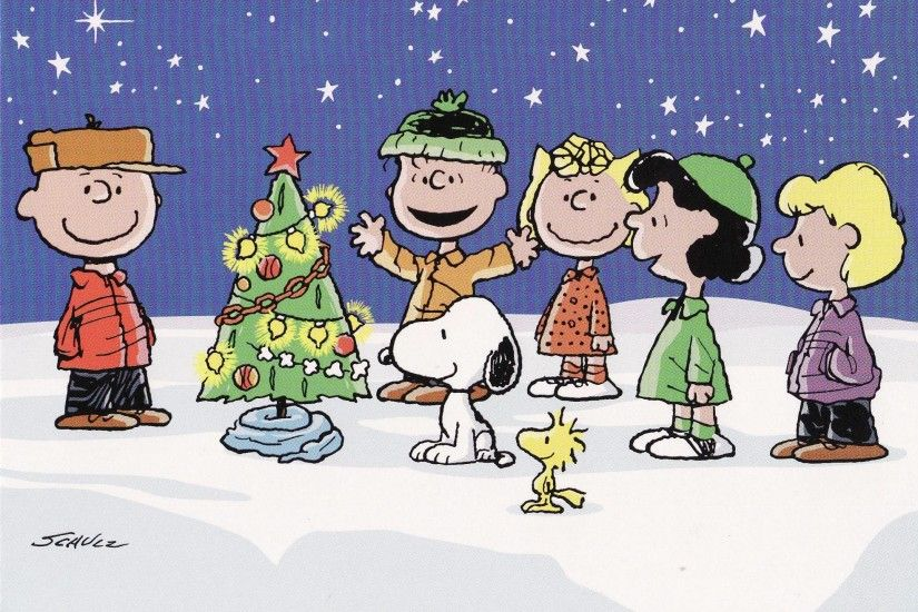 peanuts christmas wallpaper 2015 - Grasscloth Wallpaper