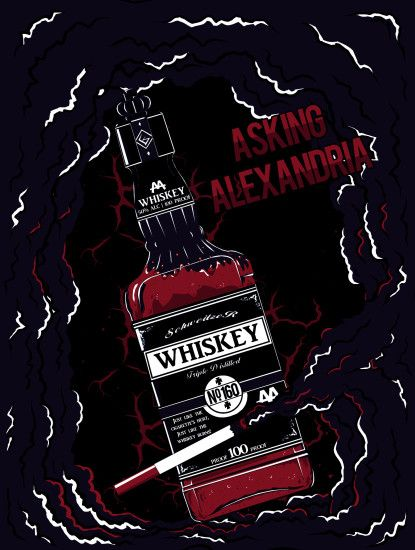 ... Asking Alexandria Reckless And Relentless Design by SykotiiK