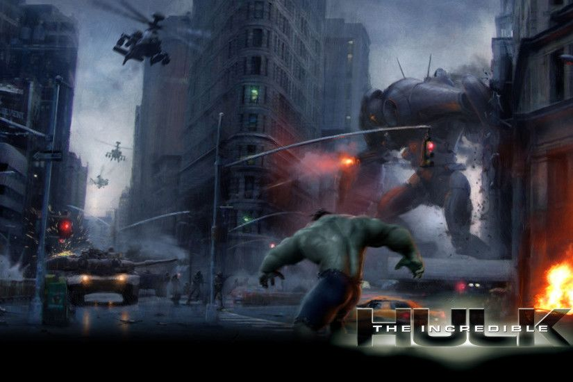The Incredible Hulk Wallpaper 23 - 1920 X 1200
