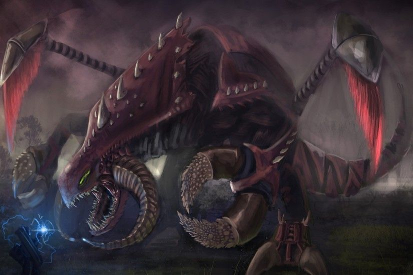 Artwork Digital Art Ryze Video Games Zerg