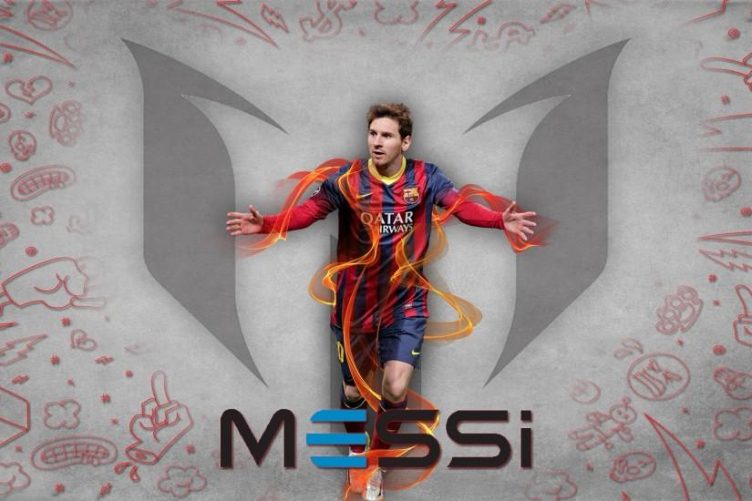 Full HD Lionel Messi 1920x1080 Photo.
