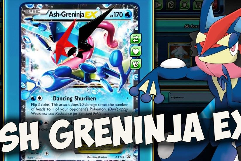 Ash Greninja EX! One Of The Worst Cards Ever Made! - Pokemon TCG Online -  YouTube