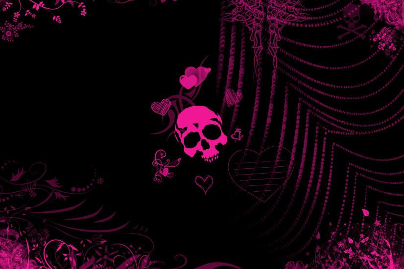 ... Pink And Black Wallpaper Backgrounds 2 High Resolution Wallpaper .