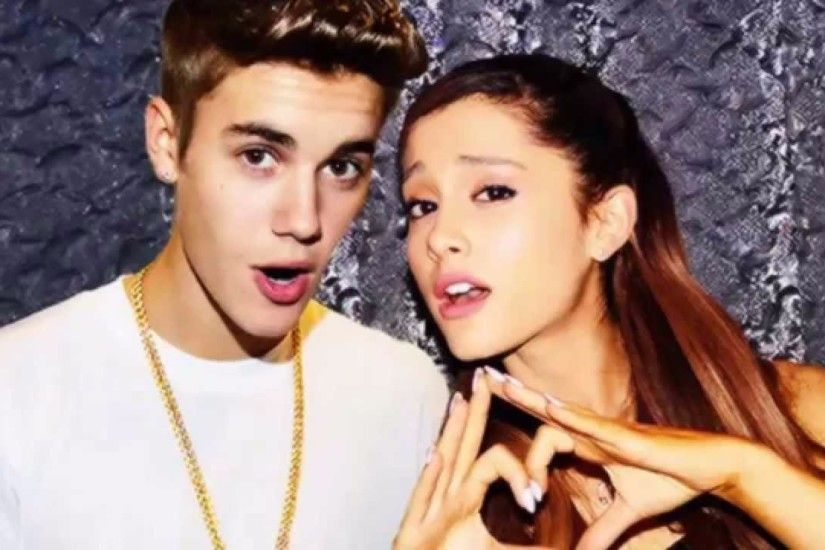Justin Bieber and 4K Ariana Grande Wallpaper