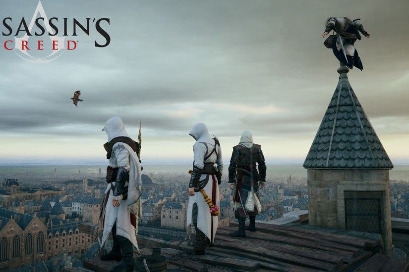 The Assassins images Altair Ezio Connor HD wallpaper and