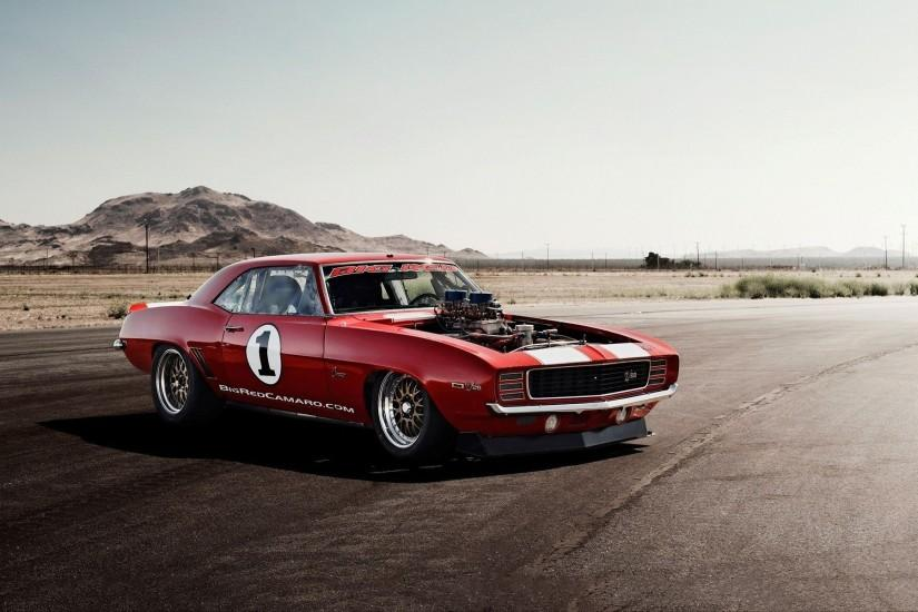 1969 chevrolet camaro supercharged Wallpapers | Pictures