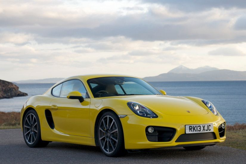Vehicles - Porsche Cayman S Vehicle Car Porsche Sport Car Yellow Car Porsche  Cayman Wallpaper