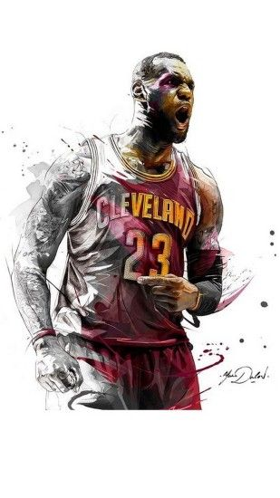 iPhone Wallpaper LeBron James - Best iPhone Wallpaper