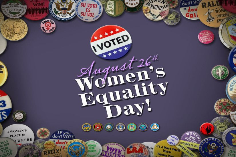 Image of 2017 Women's Equality Day Wallpaper (1920 x 1080)
