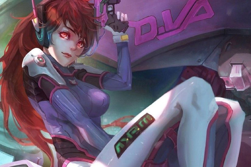 "game overwatch drawing dva - Image #633 - <script async src=""/"