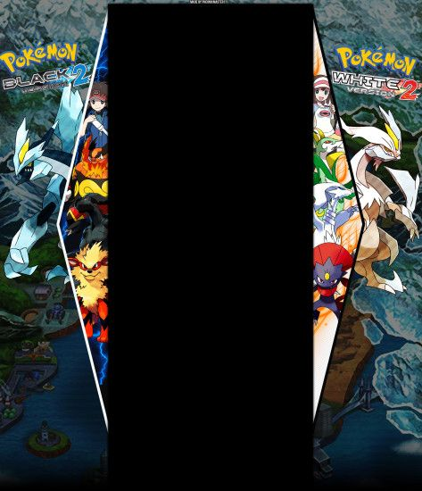 ... Pokemon Black and White 2 Youtube Background V2 by Pheonixmaster1