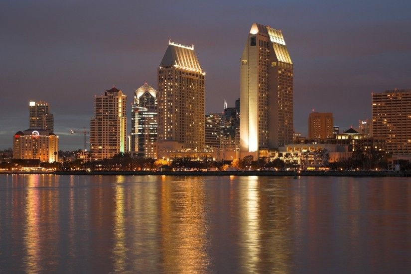 Wallpaper San Diego, California, city, USA » City, nature, landscapes -  Free HD Desktop Wallpapers. Backgrounds of cities and nature