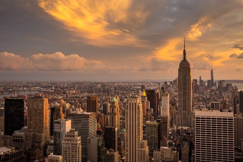 ... Wallpapers 4k City Wallpaper New York Manhattan Sunset 4K Ultra HD  Desktop Uploaded Background Hd city ...