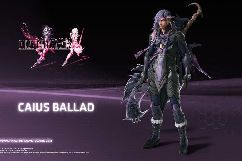 Final Fantasy XIII-2 Caius Wallpaper