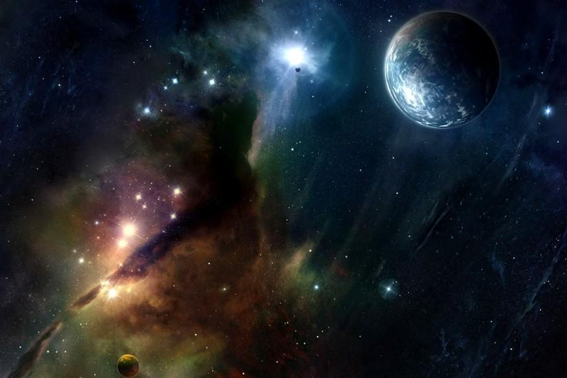 widescreen space background hd 2560x1600 for retina