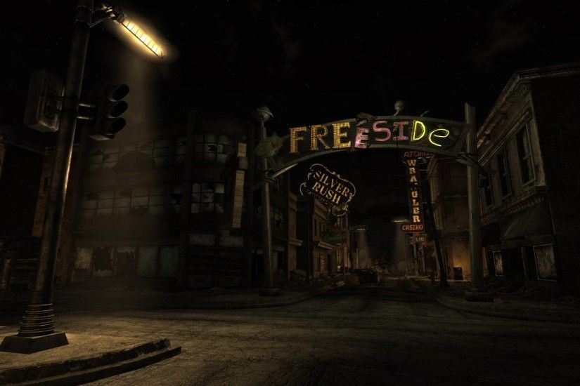 Cities Buildings Fallout New Vegas