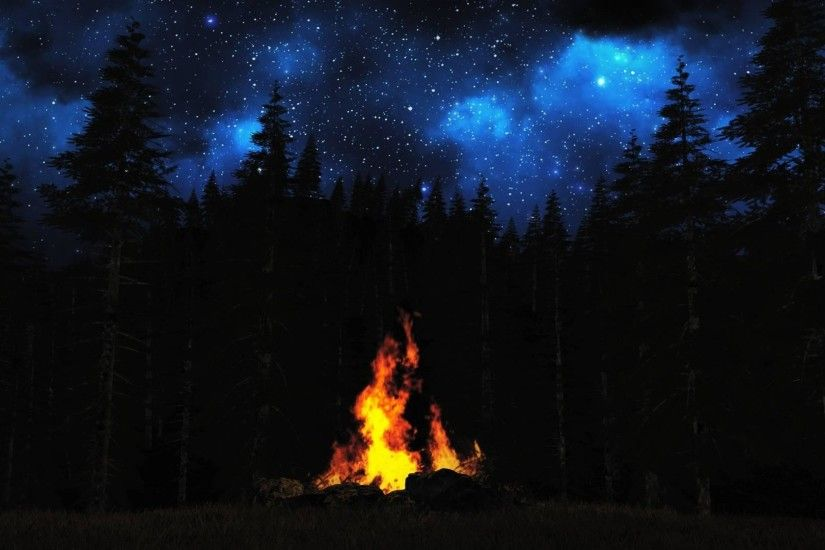 wallpaper.wiki-Photo-of-Campfire-PIC-WPB0012852-1