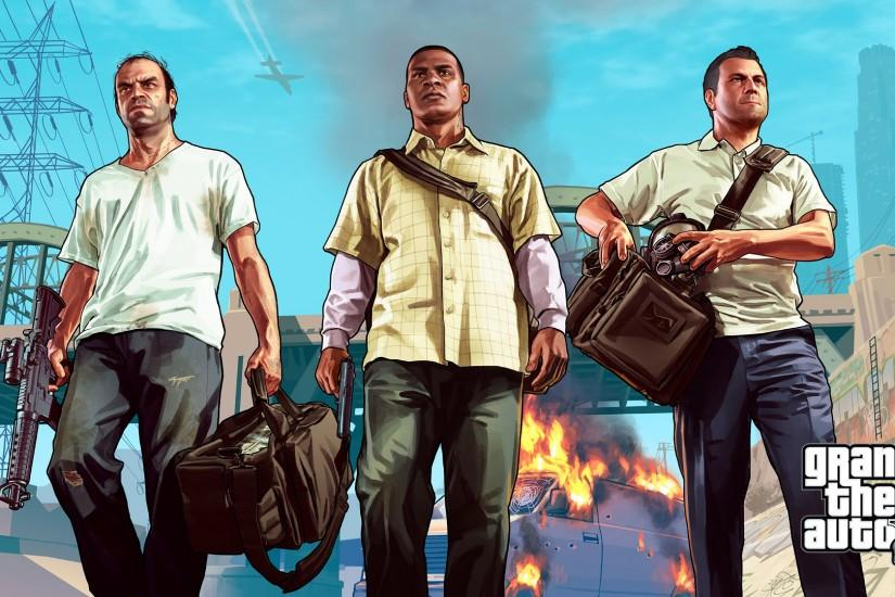 ... 316 Grand Theft Auto V HD Wallpapers | Backgrounds - Wallpaper Abyss;  Top Collection of GTA 5 ...