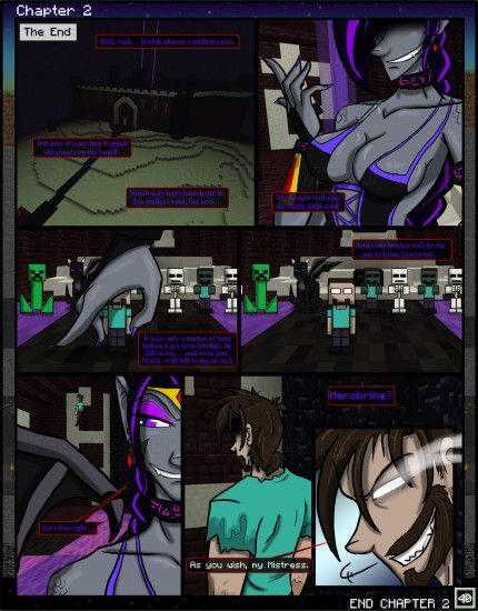 ... Minecraft: The Awakening Ch2. 40 END CHAPTER 2 by TomBoy-Comics