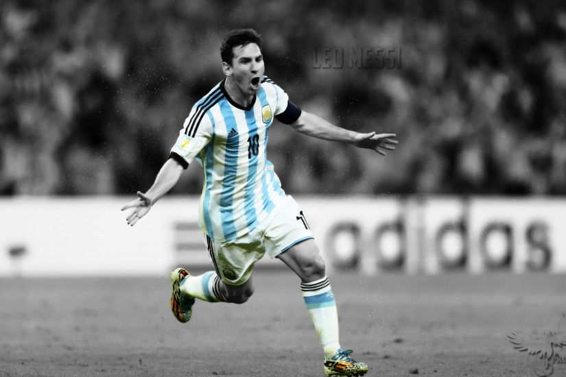 Leo Messi Argentina World Cup celebration