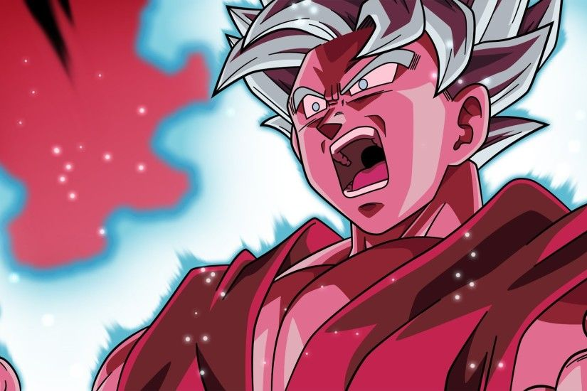 ... Dragon Ball Super Wallpaper - SSJ Blue Kaioken by WindyEchoes on ...  Goku ...