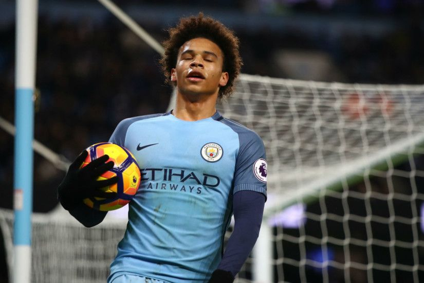 Leroy Sane Premier League Man CIty v Tottenham 21011