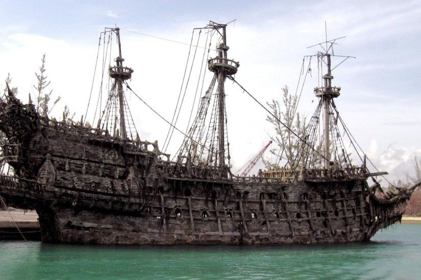 Old Beautiful Ship