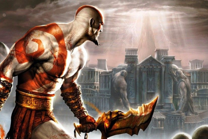 Kratos In God Of War 1920x1080 HD Wallpapers