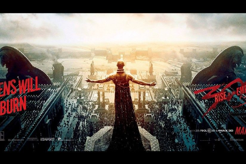 xerxes 300 rise of an empire poster 2014 movie hd wallpaper 1920x1080