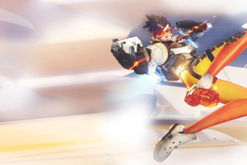 overwatch tracer wallpaper 2560x1440 download