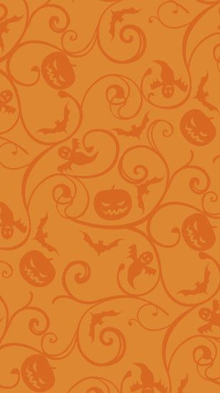 Jack-o'-lantern pattern Wallpaper