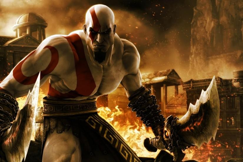Kratos - God of War 3 wallpaper 1920x1080 jpg